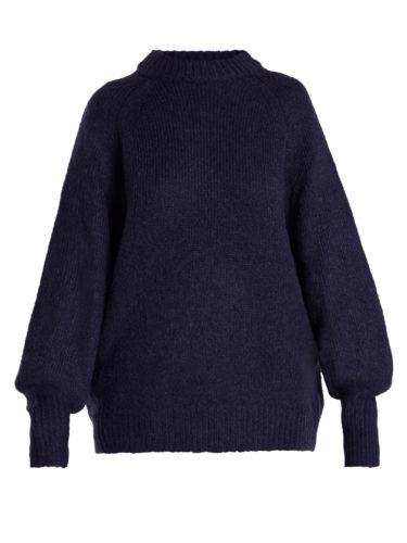 Tibi - Oversized Balloon-Sleeved Sweater