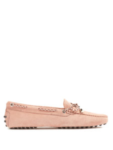 Tod'S - Gommino Lace-Up Suede Loafers