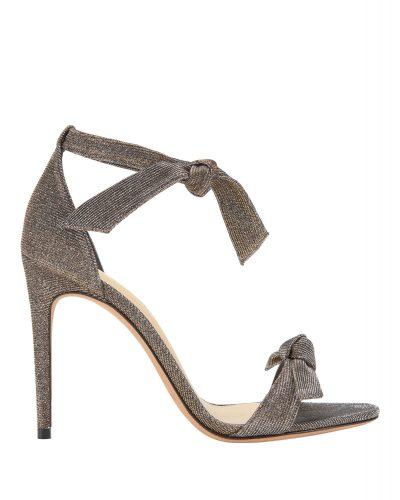 Alexandre Birman - Clarita Double Bow Shimmer Sandals