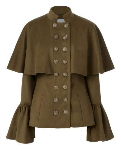 Caroline Constas - Johan Bell Sleeve Coat