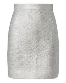 Carven - Mini Skirt - Silver