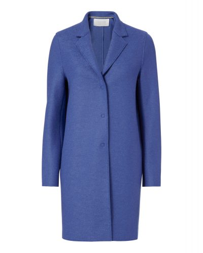 Harris Wharf - Cocoon Coat - Blue