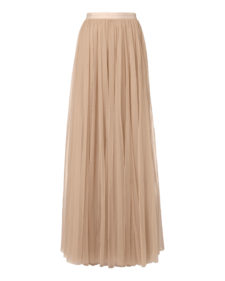 Needle & Thread - Tulle Maxi Skirt - Pink