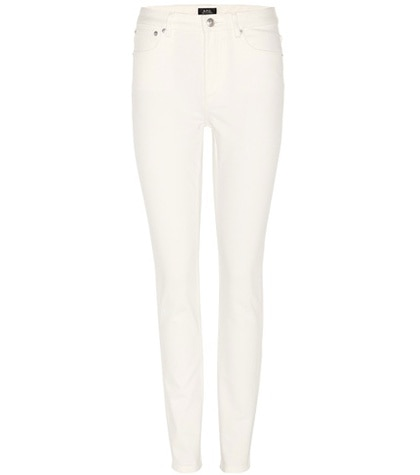 A.P.C. - High Standard Skinny Jeans - White