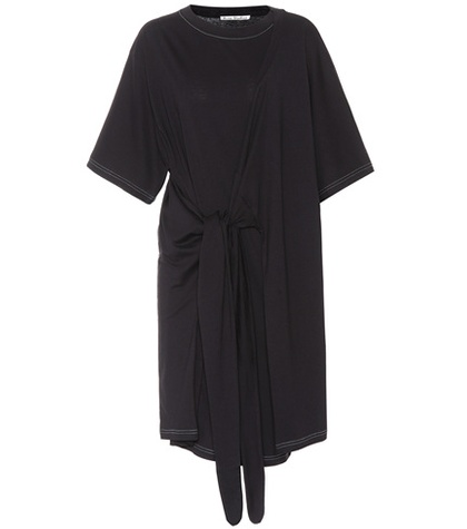 Acne Studios - Lylia Cotton-Jersey Dress - Black