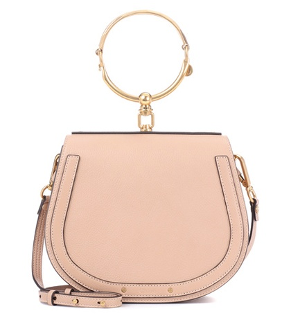 Chloé - Medium Nile Leather Bracelet Crossbody Bag - Pink