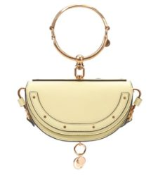 Chloé - Nile Minaudière Leather Crossbody Bag - Yellow