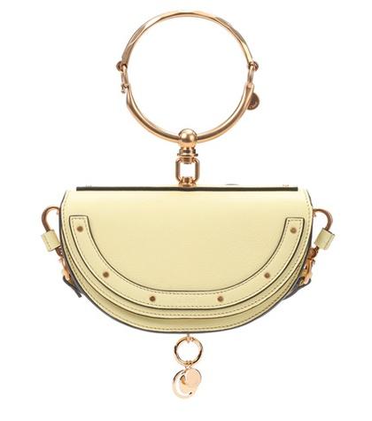 Chloé - Nile Minaudière Leather Crossbody Bag - Yellow