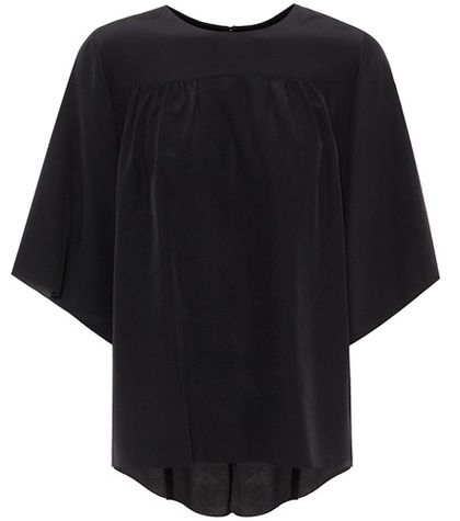 Chloé - Silk Top - Black
