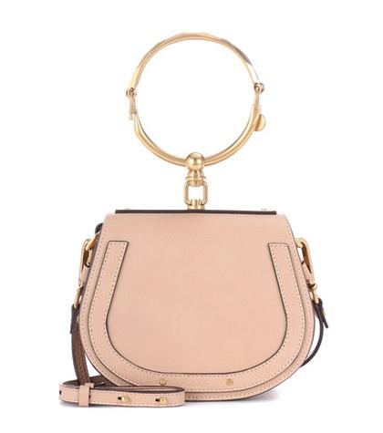 Chloé - Small Nile Leather Bracelet Crossbody Bag - Neutrals