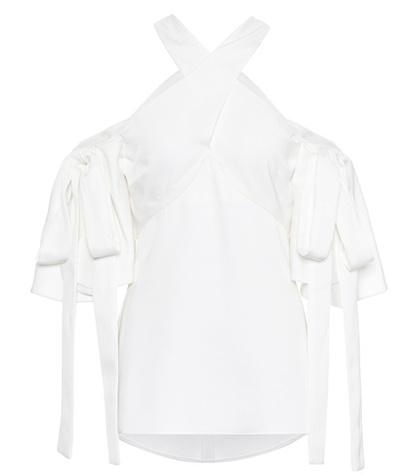 Ellery - Crêpe Top - White