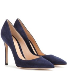 Gianvito Rossi - Gianvito 105 Suede Pumps - Blue