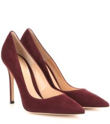 Gianvito Rossi - Gianvito 105 Suede Pumps - Red