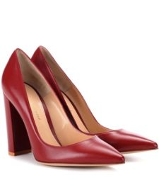 Gianvito Rossi - Leather Pumps - Red