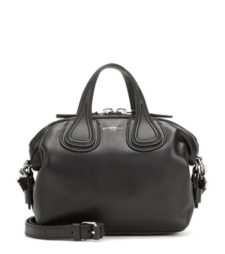 Givenchy - Nightingale Micro Leather Tote - Black