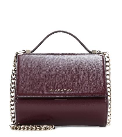 4f578bbafacc Givenchy - Pandora Box Mini Patent Leather Shoulder Bag - Red ...