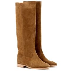 Isabel Marant - Étoile Cleave Concealed Wedge Suede Boots - Brown