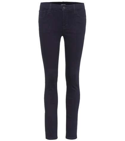 J Brand - Mid-Rise Skinny Jeans - Blue