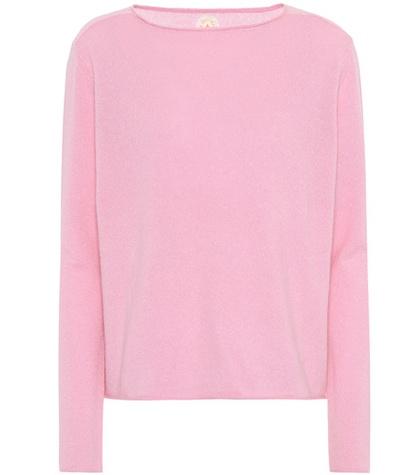Jardin Des Orangers - Cashmere Sweater - Pink