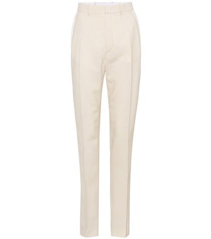 Joseph - Striped Wool Trousers - Neutrals