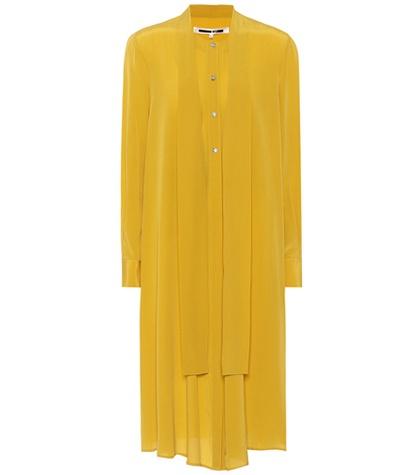 McQ Alexander McQueen - Silk Dress - Yellow