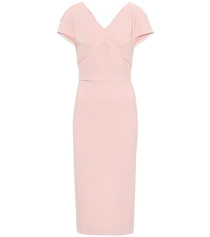 Roland Mouret - Felmersham Crêpe Sheath Dress - Pink
