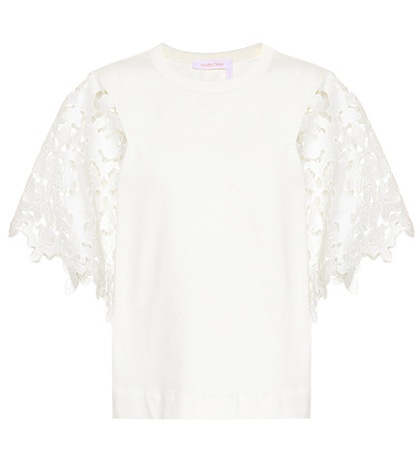 See by Chloé - Cotton Top - White