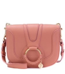 See by Chloé - Hana Medium Leather Shoulder Bag - Pink