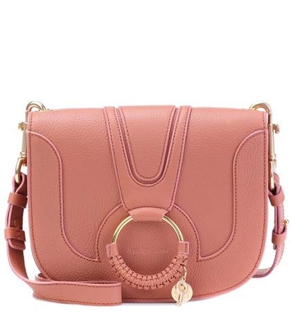 See by Chloé - Hana Medium Leather Shoulder Bag - Pink