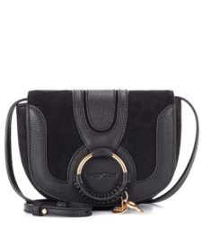 See by Chloé - Hana Mini Leather Shoulder Bag - Black