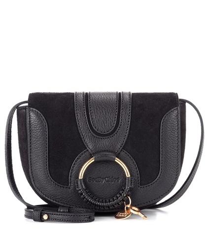See by Chloé - Hana Mini Leather Shoulder Bag - Black