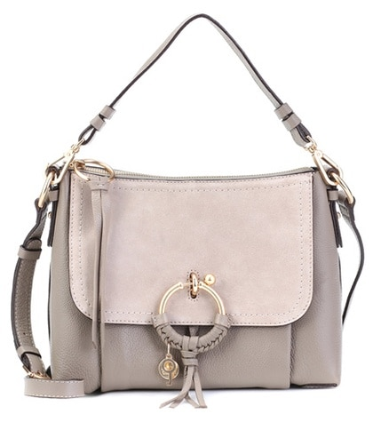 See by Chloé - Joan Small Leather Crossbody Bag - Neutrals