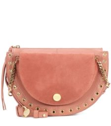 See by Chloé - Kriss Medium Leather Crossbody Bag - Pink