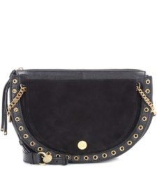 See by Chloé - Kriss Small Leather Crossbody Bag - Black