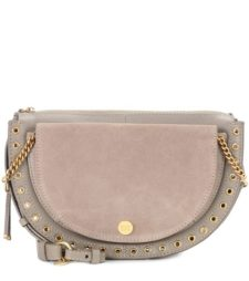 See by Chloé - Kriss Small Leather Crossbody Bag - Gray