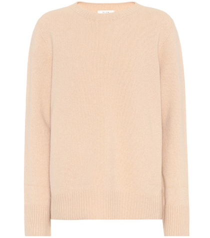 The Row - Sibel Wool And Cashmere Sweater - Neutrals