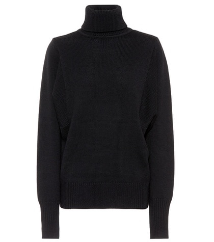 The Row - Virgin Wool Sweater - Black