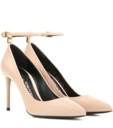 Tom Ford - Leather Pumps - Neutrals