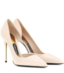 Tom Ford - Patent Leather Pumps - Neutrals