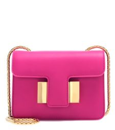 Tom Ford - Sienna Small Leather Shoulder Bag - Pink