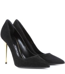 Tom Ford - Suede Pumps - Black