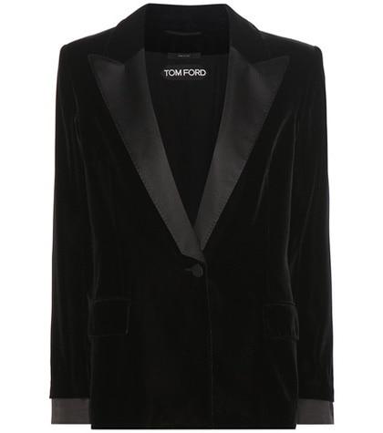 Tom Ford - Velvet Jacket - Black