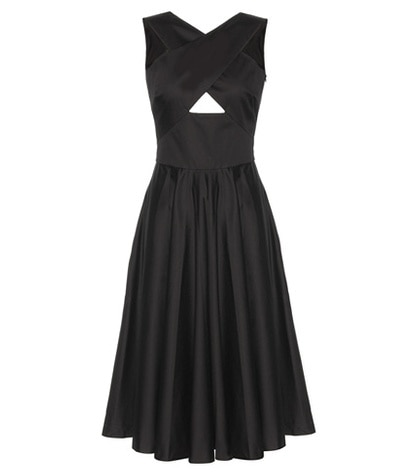 Tomas Maier - Cotton Dress - Black