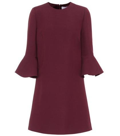 Valentino - Crêpe Couture Dress - Purple