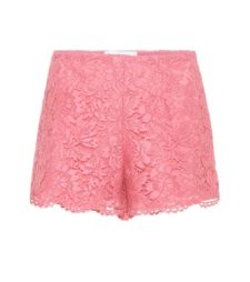Valentino - Lace Shorts - Pink