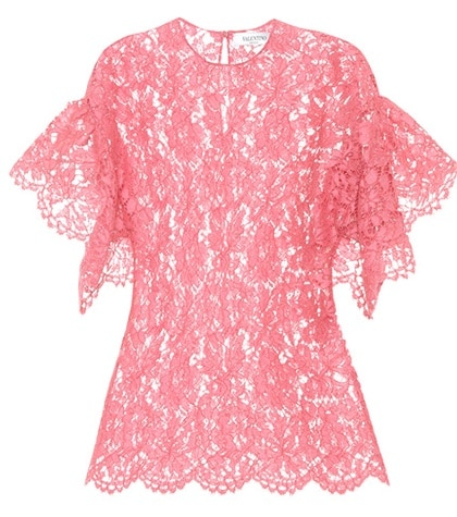 Valentino - Lace Top - Pink
