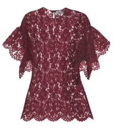 Valentino - Lace Top - Purple