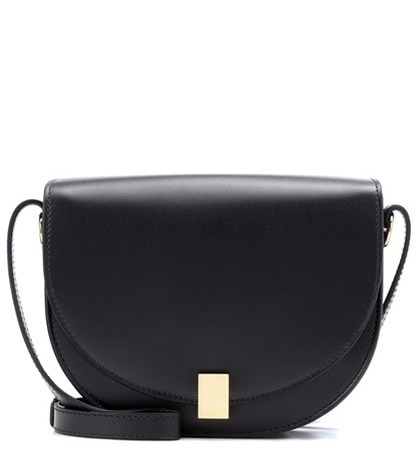 Victoria Beckham - Nano Half Moon Box Shoulder Bag - Black