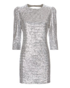 Fleur Du Mal - Sequin Mini Dress - Silver