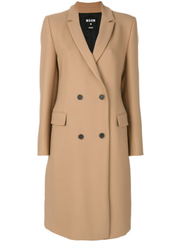 MSGM - Double-Breasted Coat